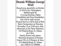 Dennis William George WAY photo
