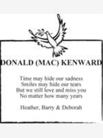 DONALD (MAC) KENWARD photo