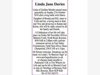 LINDA JANE DAVIES photo