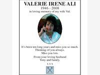 Valerie Irene Ali photo