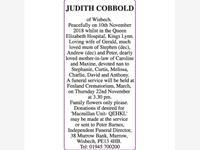 JUDITH COBBOLD photo