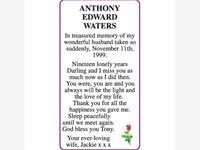 ANTHONY EDWARD WATERS photo