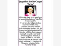 Jacqueline Louise Cooper photo