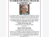 Father Michael Francis Lambert AA photo