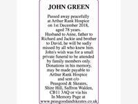 JOHN GREEN photo
