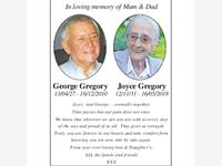 George Gregory Joyce Gregory photo