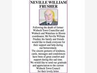 NEVILLE WILLIAM FRUSHER photo