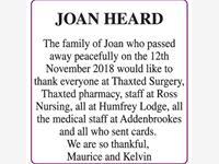 JOAN HEARD photo