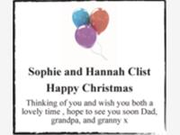 Sophie and Hannah Clist photo