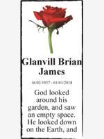 Glanvill Brian James photo