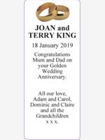 JOAN and TERRY KING photo