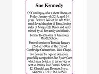 Sue Kennedy photo