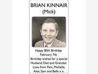 BRIAN (Mick) KINNAIR photo