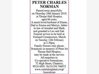 PETER CHARLES NORMAN photo