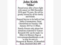 John Keith 'Mike' photo
