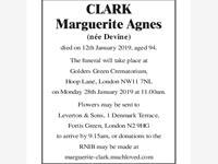 CLARK Marguerite Agnes photo