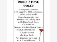 Doris Gladys Stone 'Dolly' photo