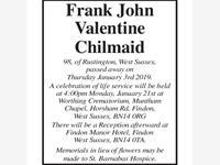 Frank John Valentine Chilmaid photo