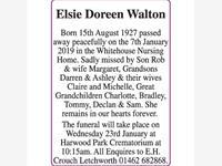 Elsie Doreen Walton photo