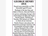 GEORGE HENRY DYE photo