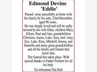 Edmond devine 'Eddie' photo