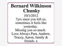 bernard Wilkinson (Chunky) photo