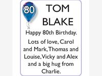 TOM BLAKE photo