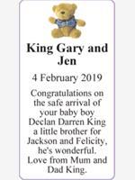 King Gary and Jen photo