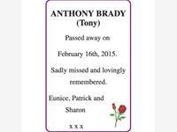 ANTHONY BRADY (Tony) photo