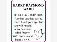 BARRY RAYMOND WARD photo