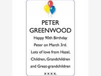 PETER GREENWOOD photo