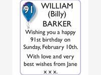 WILLIAM (Billy) BARKER photo