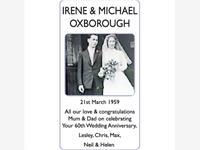 IRENE AND MICHAEL OXBOROUGH photo