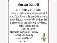 Susan Knott photo