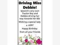 Driving Miss Debbie!  photo