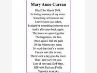 Mary Anne Curran photo
