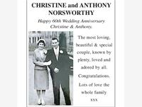 CHRISTINE & ANTHONY NORSWORTHY photo