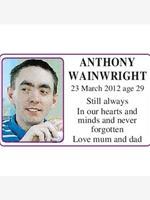 Anthony Wainwright photo