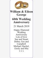 William & Eileen George photo