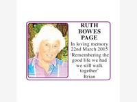 Ruth Bowes Page photo