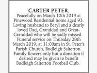 PETER CARTER photo