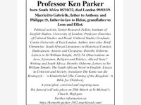 Professor ken Parker photo