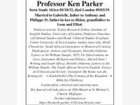 Professor ken Parker photo