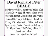 BEALE David, Richard Peter. photo