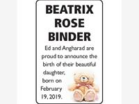 Beatrix Rose Binder photo