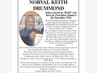 Norval Keith Drummond photo