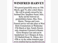 Winifred Harvey photo
