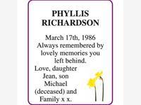 PHYLLIS RICHARDSON photo