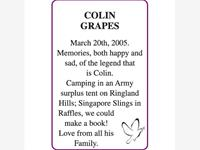 COLIN GRAPES photo
