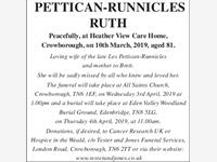 Pettican-Runnicles Ruth photo